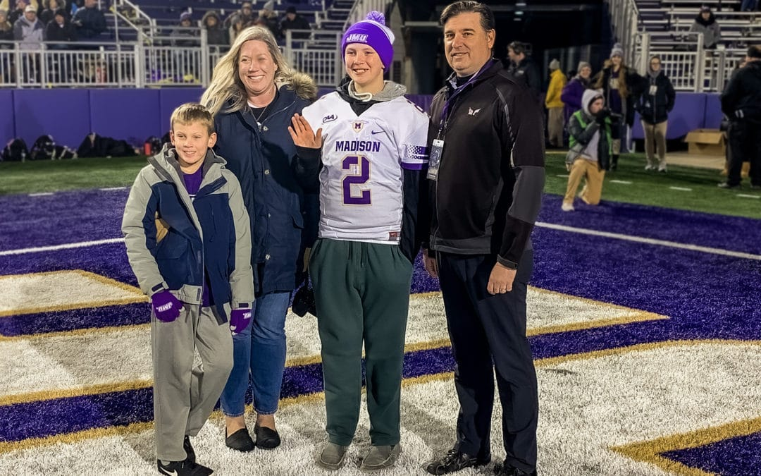RBI sponsors the Top Dog Experience with JMU Sports