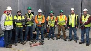 Riddleberger team at Hershey