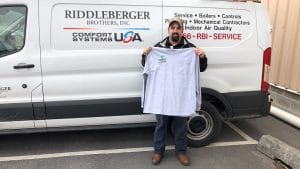 Riddleberger Brother employee Michael Pence