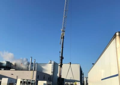 RBI Construction Kerry Foods Expansion Project Crane