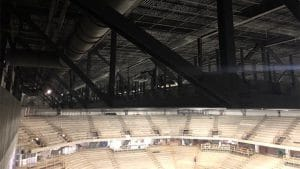 JMU Atlantic Union Bank Arena Center Project Interior