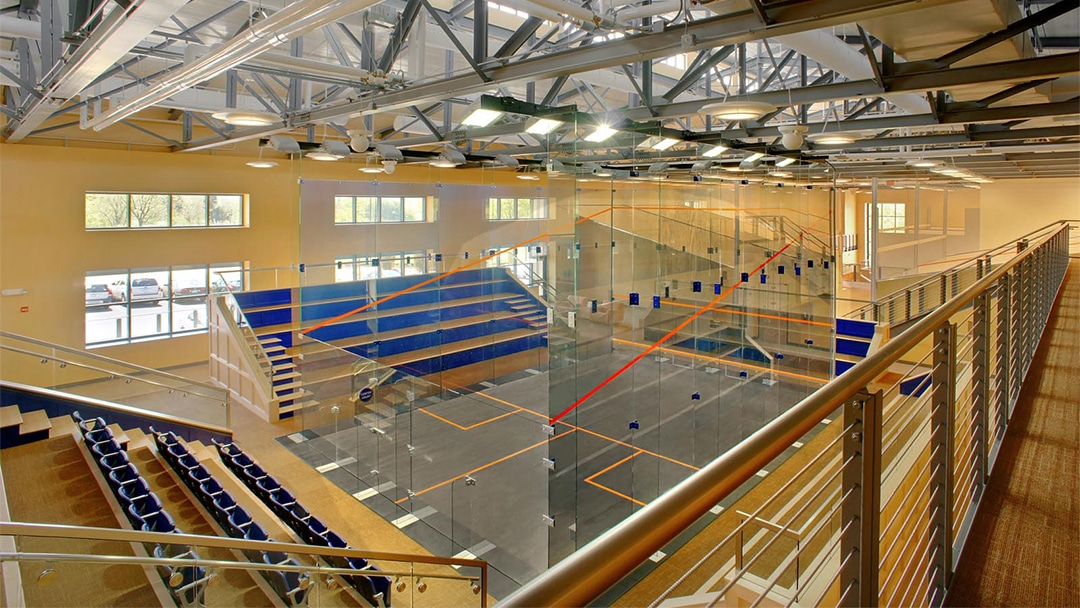 UVA Squash - Interior 1 - Court