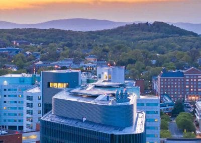University of Virginia – Helipad Project – Bed Tower Roof