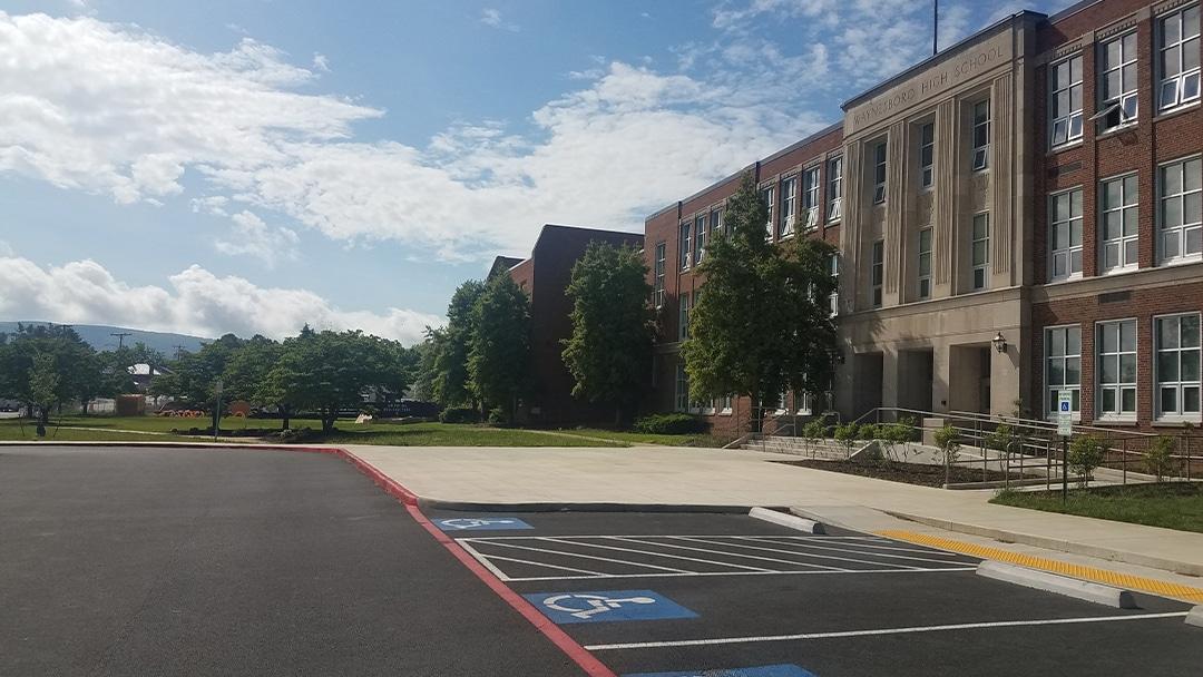 Waynesboro High School Renovation - Exterior 1
